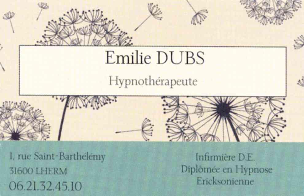 Hypnothrapeute Au Lherm Emilie DUBS Nathalie BREU DEJEAN